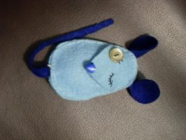 Winking Pocket Mouse by MoonlightOrchids