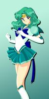 342-Eternal Sailor Neptune by Silverlegends