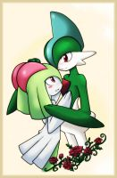 Gallade x Kirlia by Keiteki