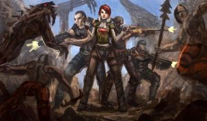 Borderlands by e-mendoza