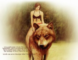 My wolf by kupat