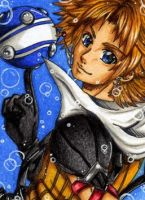 ACEO Tidus by Dat-Taiga