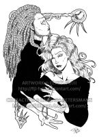 Inked Lines - Erik and Molly by Fiji-Fujii