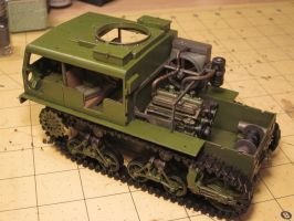 WIP 1/35 M4 High Speed Tractor by enc86