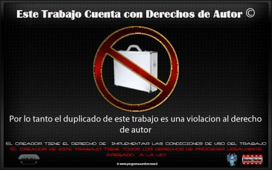 Anti pirateria by WebMazterHacker