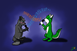 Karaoke Night by CoolCodeCat