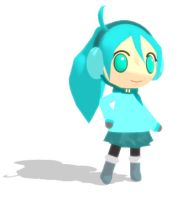 Chibi Miku (Simple Winter Outfit) DL by Aira-Melody