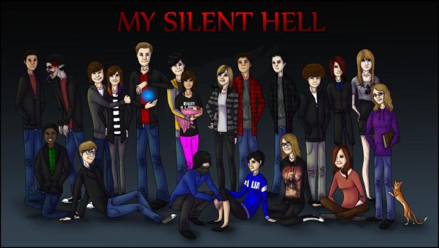 My Silent Hell Cast by German-Shepherd-Girl