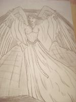 Weeping angel by Caium