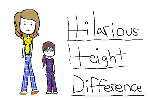 Hilarious Height Difference... by EpicDreamer2011