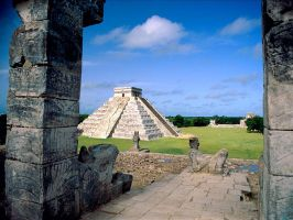 MAYAN CITY by whintersoul