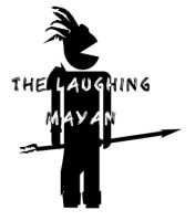 The laughing mayan logo idea by MrSparkles10