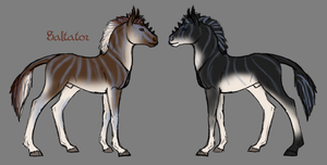 Adventus and Amadeus Colts by ReaWolf