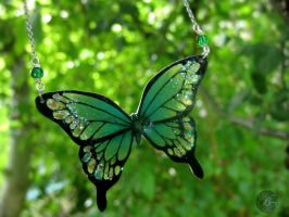 Green Butterfly by BenjiiBen