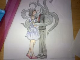 SlenderMan's Love by FirePrincess97