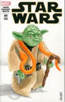 Yoda Sketch Cover by Geekincognito