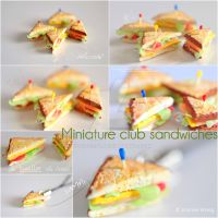 Miniature Sandwiches by jobo12354