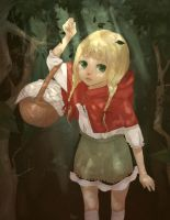 little red riding hood by lyn-chyan