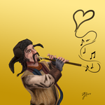 Hobbit Valentines ~ Bofur by Contraltissimo