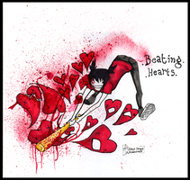 Beating Hearts by poofmongoose