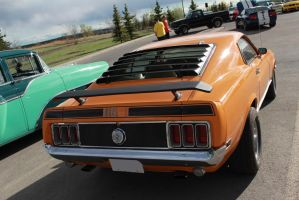Orange Mach 1 by KyleAndTheClassics