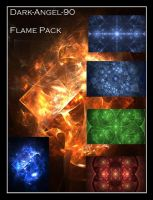 Dark-Angel-90 Flame pack by Dark-Angel-90