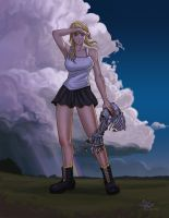 Winry Rockbell - Coming Storm by DKCrame