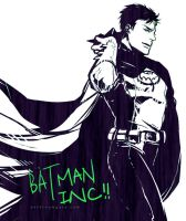 Batman INC by Haining-art