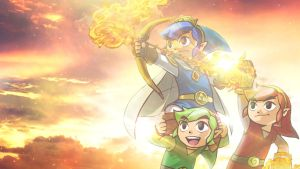 Triforce Heroes Wallpaper by alekSparx