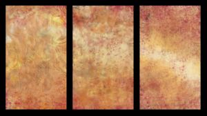 Triptych Golden Places by zoozee