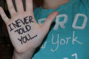 I Never Told You by ToInfinityAndBey0nd
