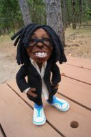 Making Whoopi - Needle felted by FeltAlive