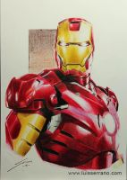 Iron Man by legserrano