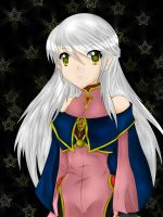 Micaiah, Light Sage by SilvueWolf