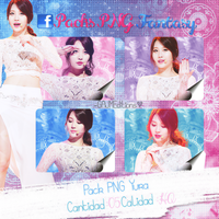 Pack PNG Yura (Girls Day) by GAJMEditions
