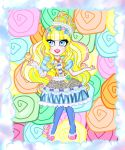 Just Sweet Blondie Lockes Chibi by PersephoneKat