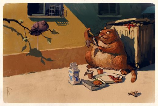 Something isn't like food by Waldemar-Kazak