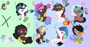 Celestiacord Adoptables ::CLOSED:: by tiffanykip