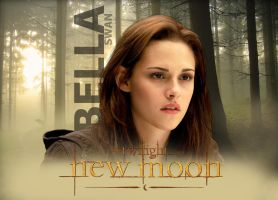 Bella New Moon Poster by carloscullen