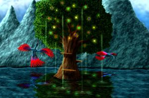 Spirit Tree by whiteguardian