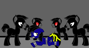 Shadow Thunder - Tied up by P.A.R.F Soldiers by Imp344