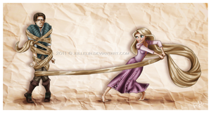 Tangled by Jullelin