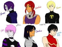 Female Titans genderbend by sakuraxisxevil
