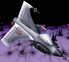 Second War jet by Lunatron