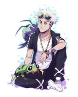 A boy and his bugs by The-cannibal-sheep