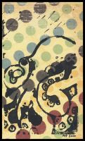 Spotted Octopus Print by tencrowns-studio