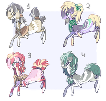 Weaver Auction Batch 3! by bananamantis