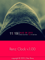 Renz Clock 1.00 by danbmxs007