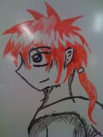 White Board Drawing by Tailef