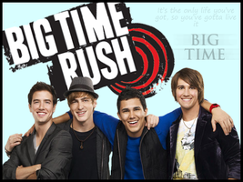 Big Time Rush Fan Banner by JustTheWayYouAre